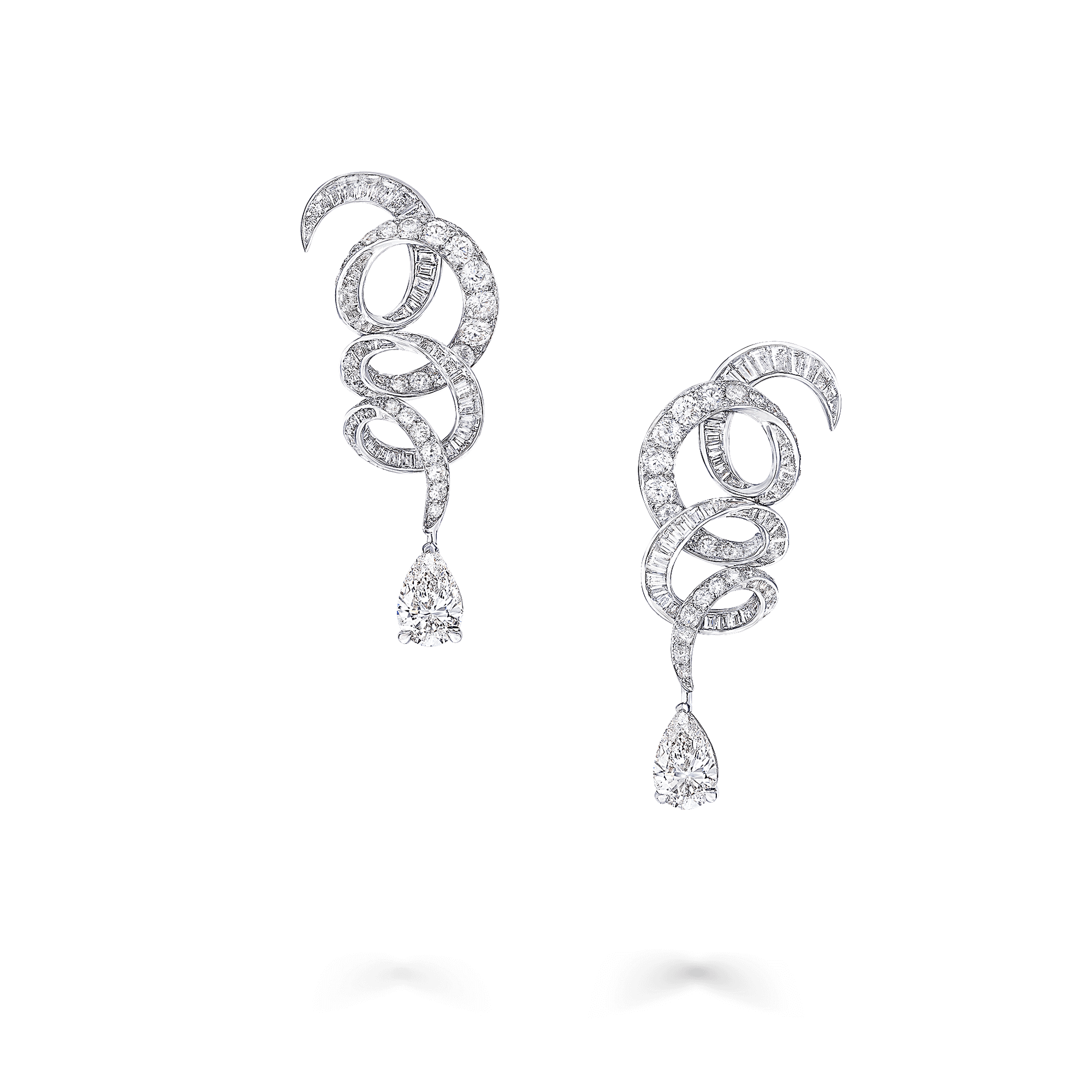 Earrings Inspired by Twombly Classic