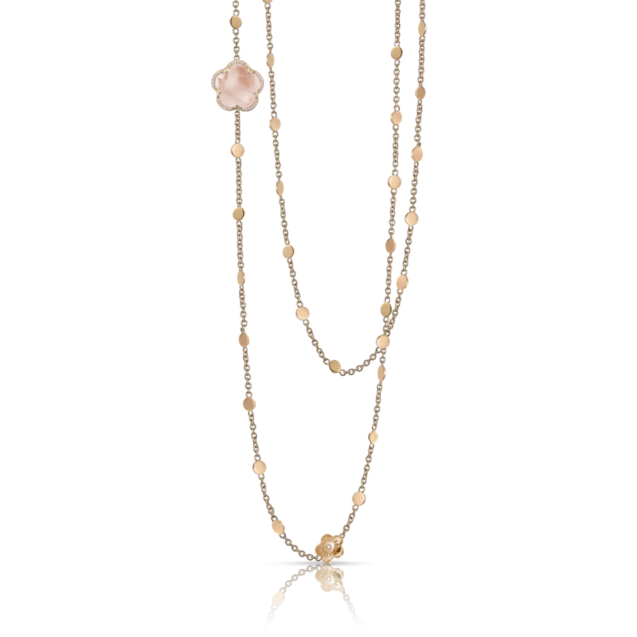 Necklaces Bon Ton Rose Quartz