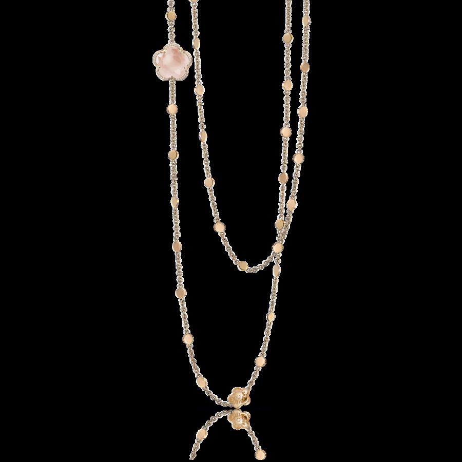 Necklaces Bon Ton Rose Quartz