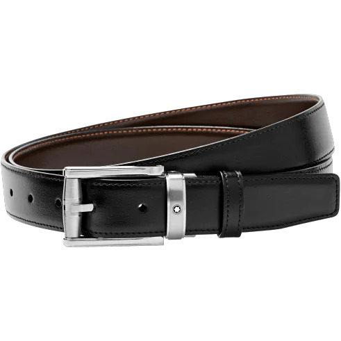 RECTANGULAR LEAHER BELT
