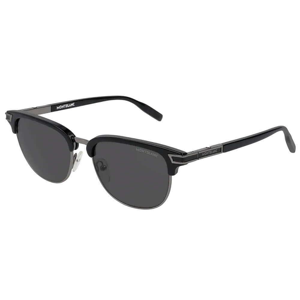 Rectangular Frame Metal Sunglasses