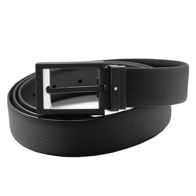 Casual Rectangular Matt Belt