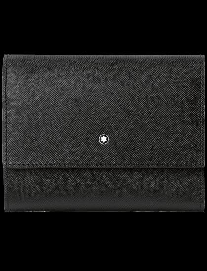 Sartorial Wallet 4cc CC ZipFlap Black