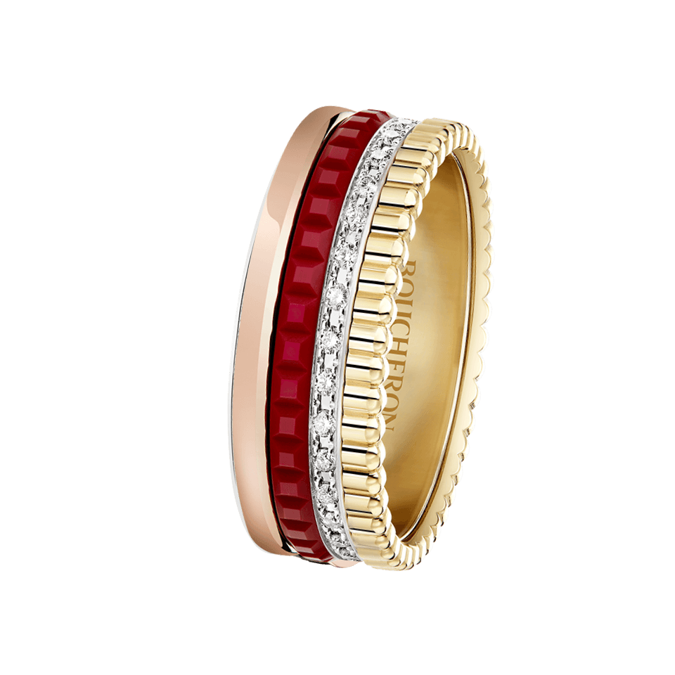 QUATRE RED EDITION SMALL RING