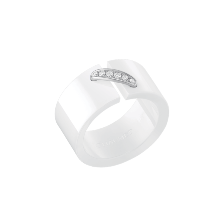 WHITE CERAMIC RING LIENS
