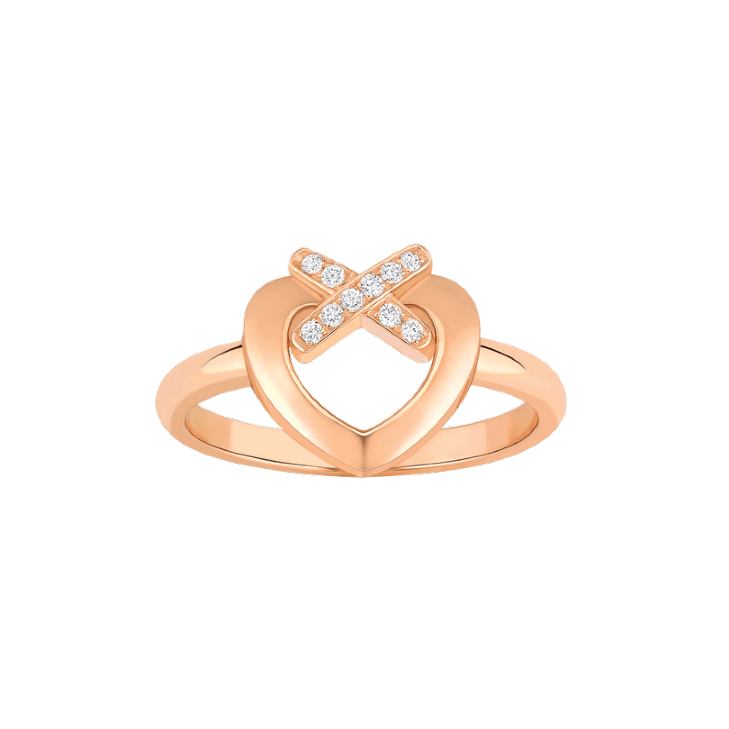 Ring Liens Heart rose gold