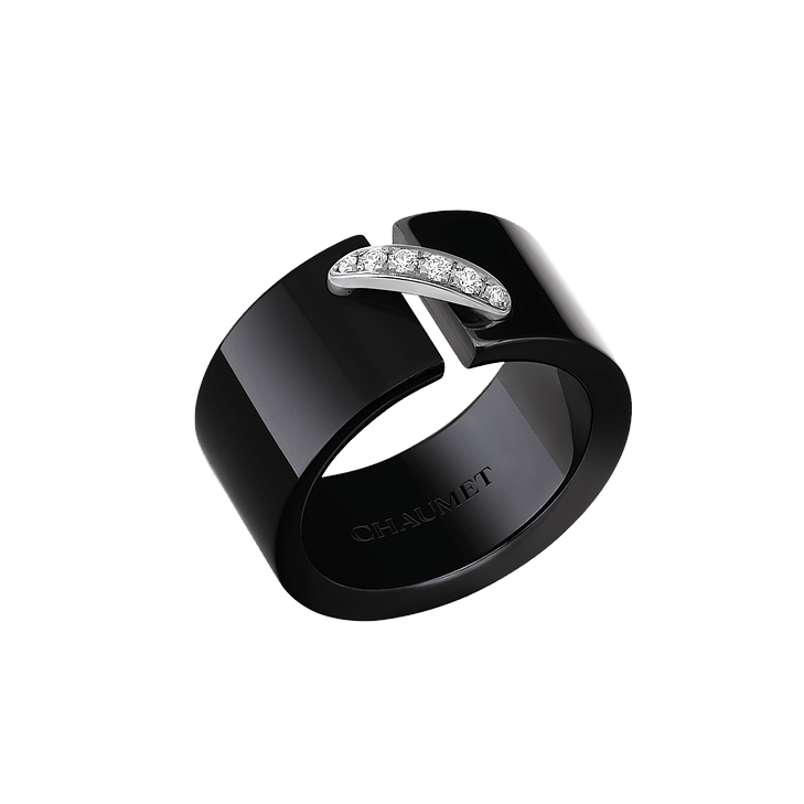 BLACK CERAMIC RING LIENS
