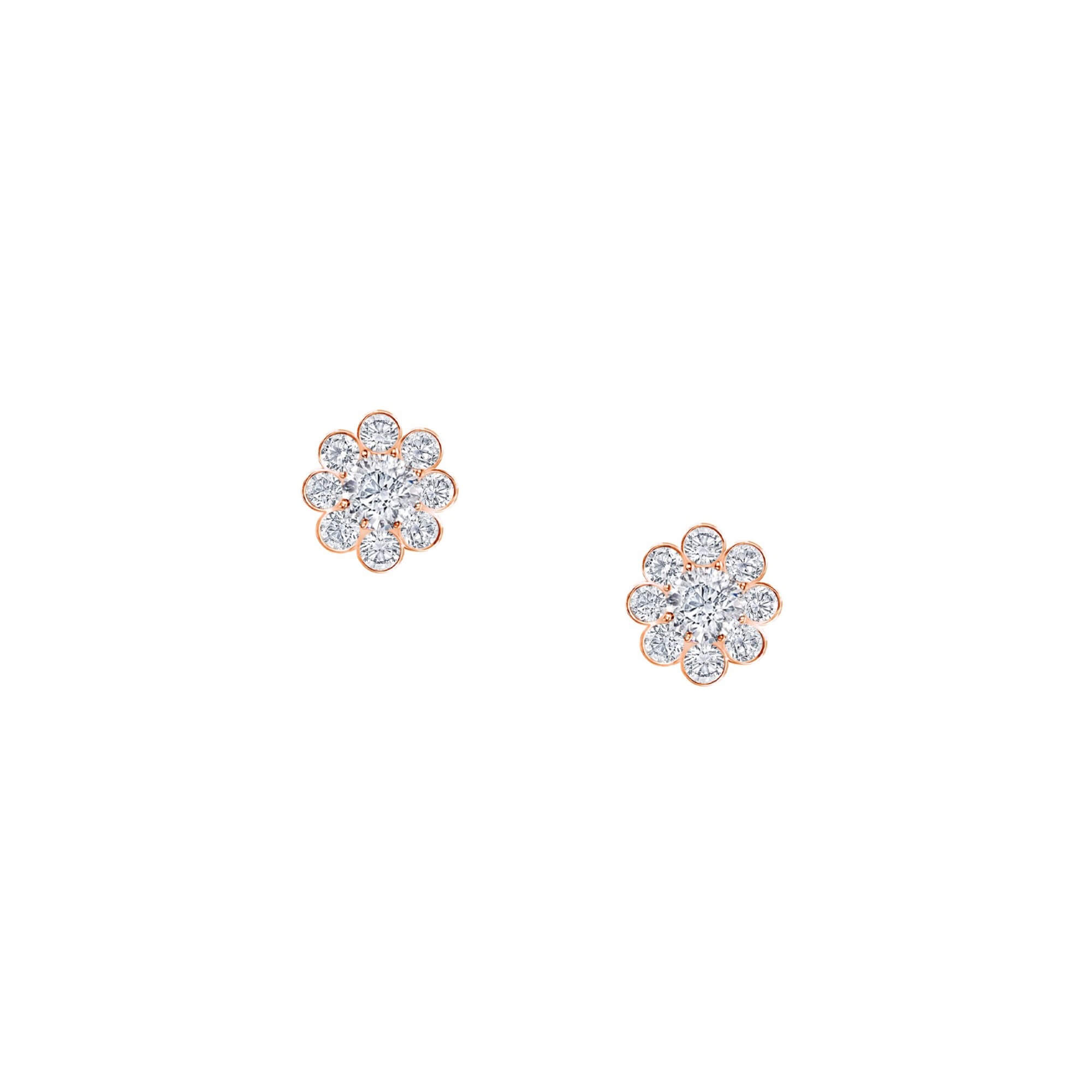 Earrings Cluster Earstuds