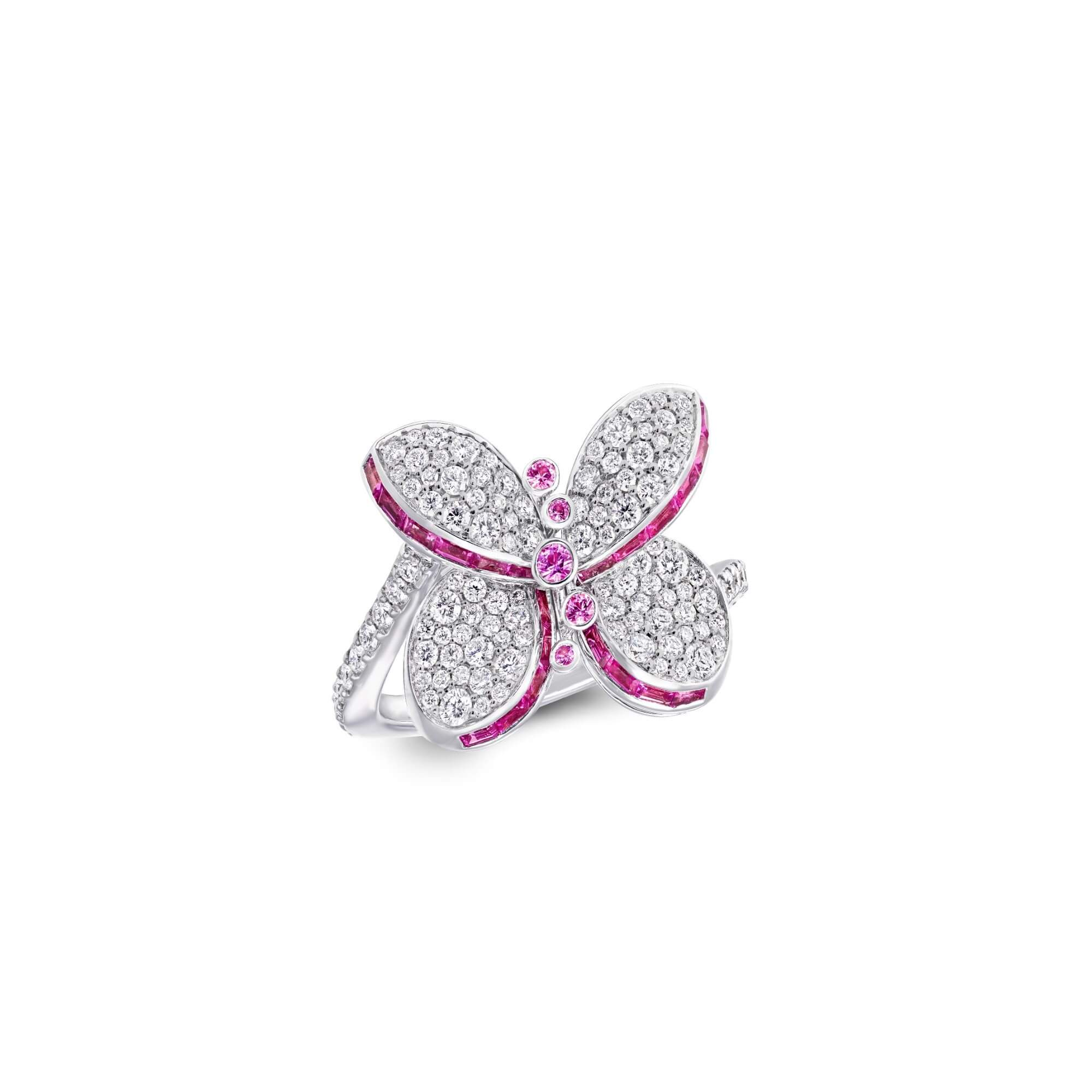 Ring Baby Princess Butterfly