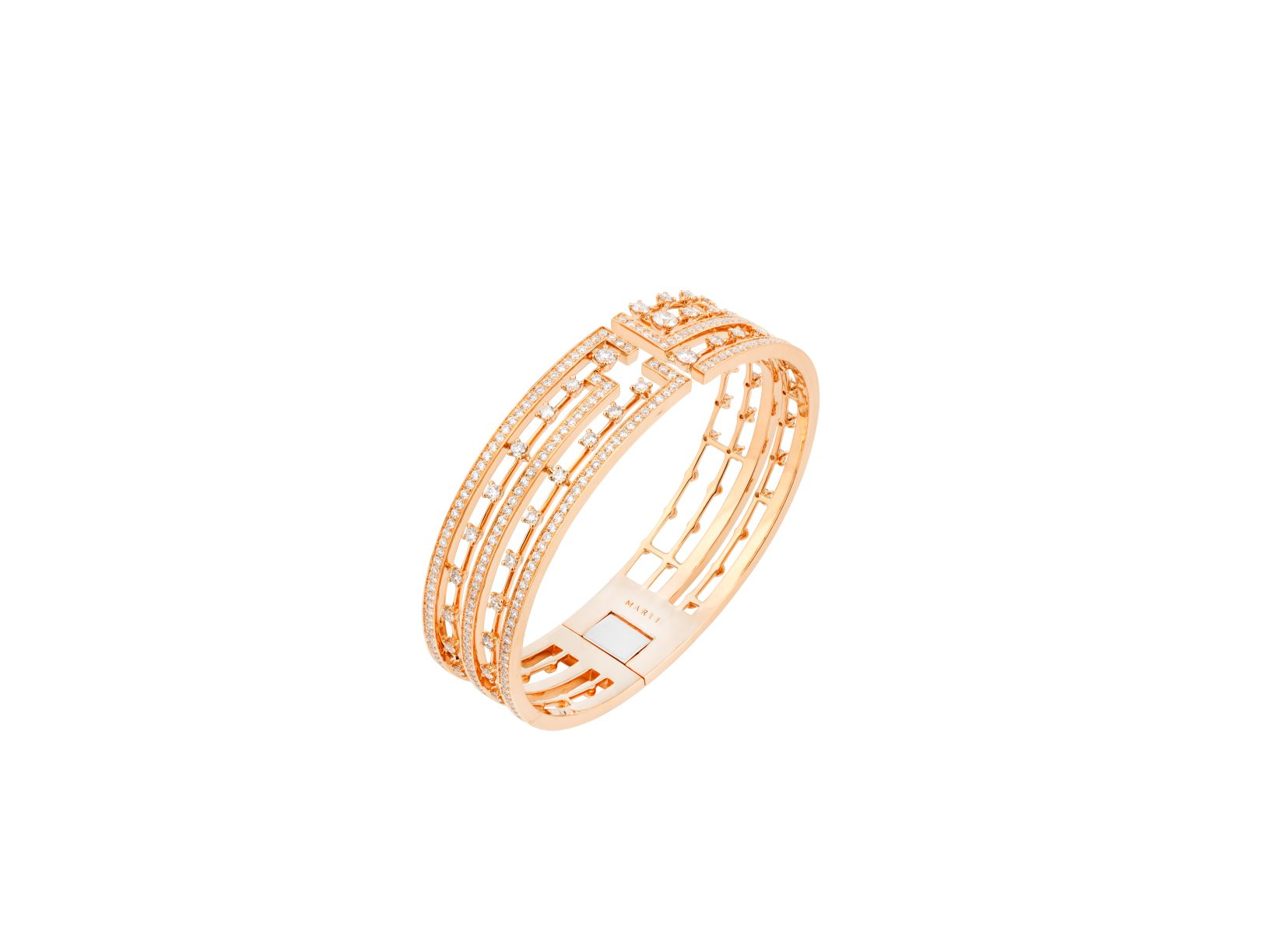 Avenues Statement Hinged Bracelet