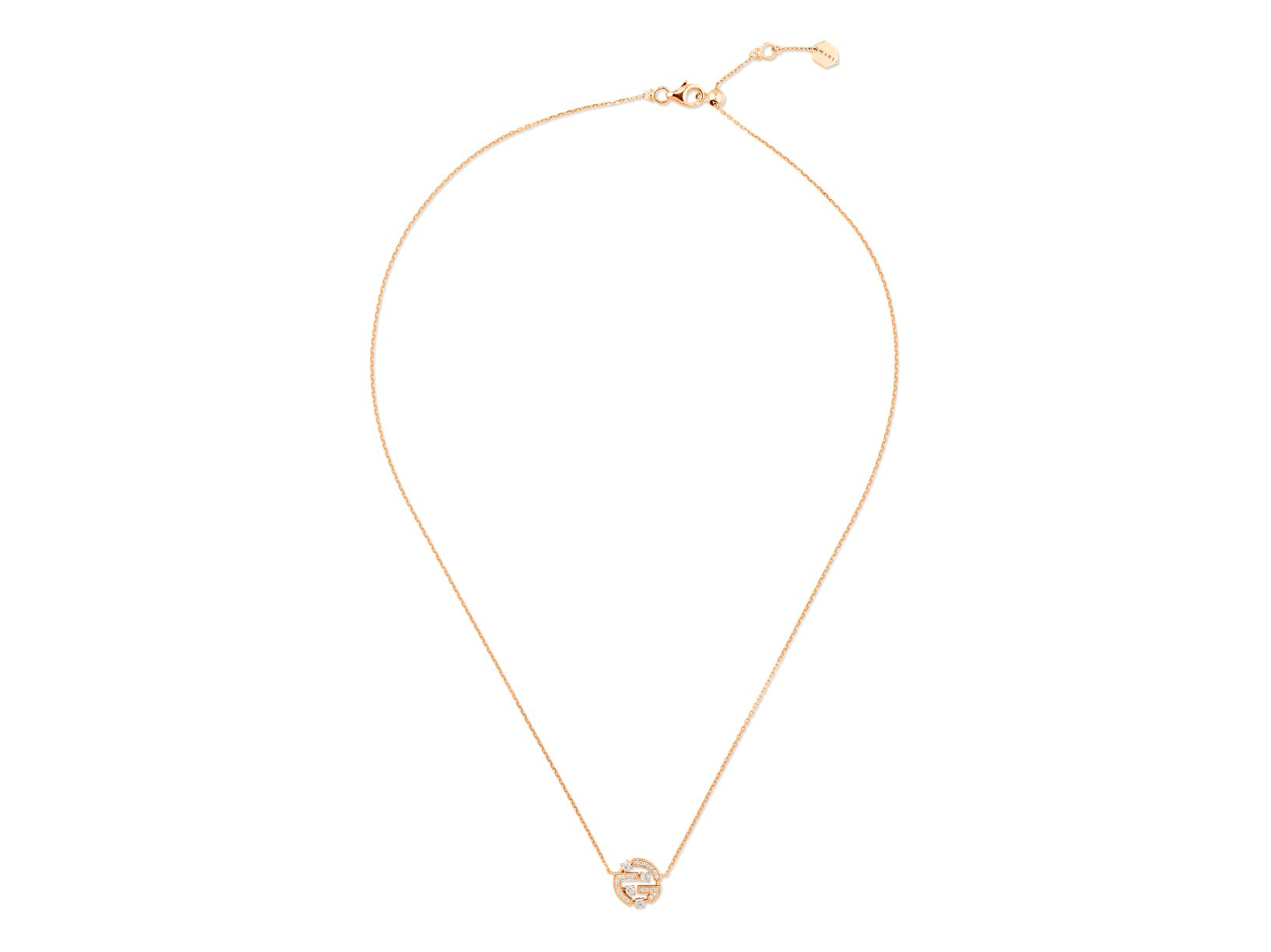 Avenues Mini Chain Necklace