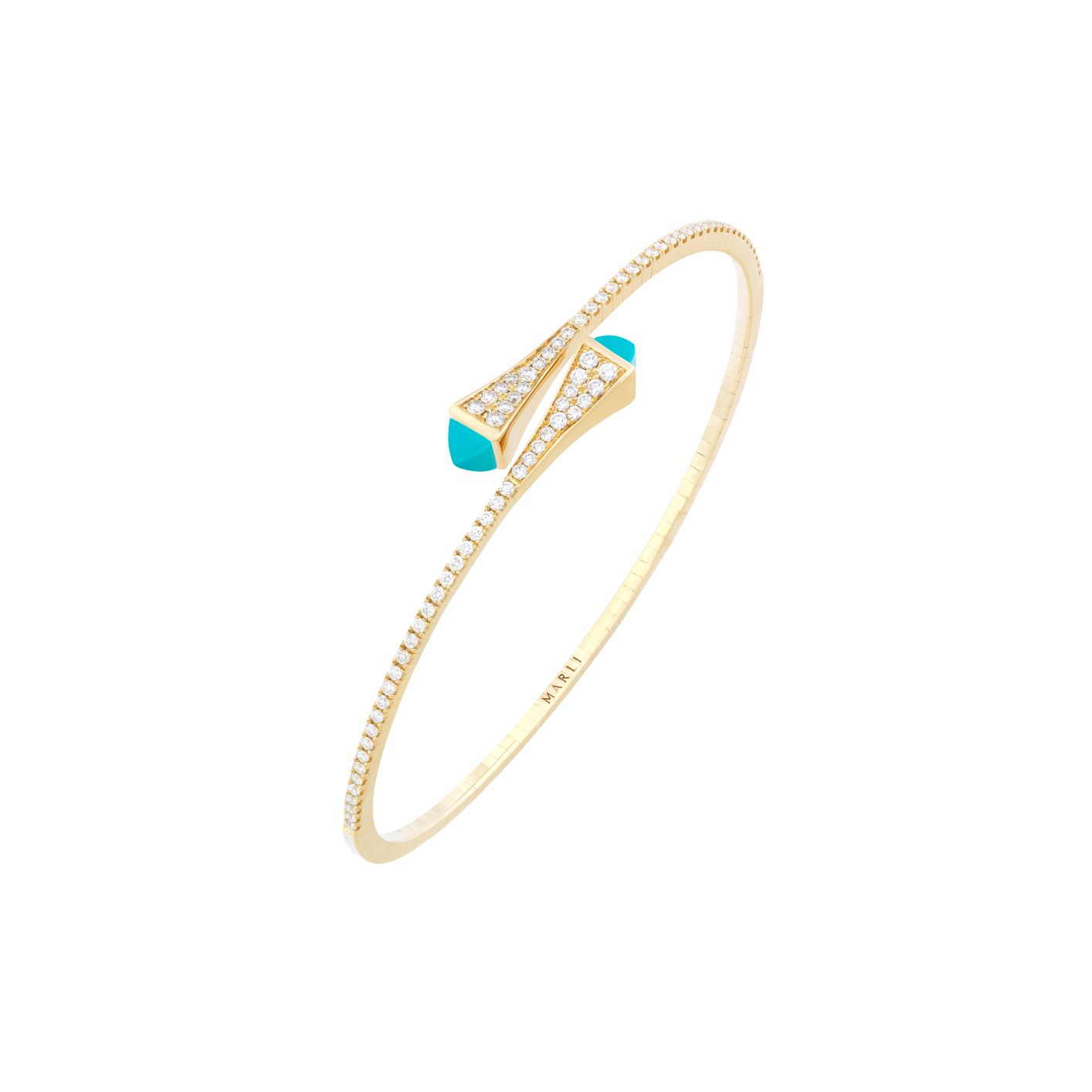 Cleo Diamond Slim Slip-On Bracelet