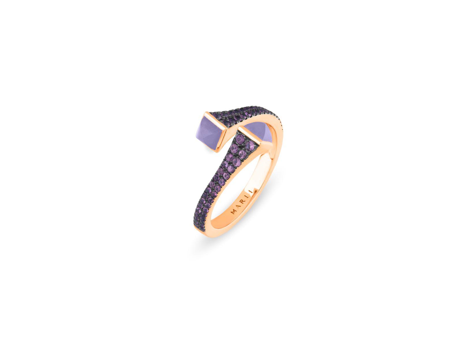 Cleo Sapphire Slim Ring