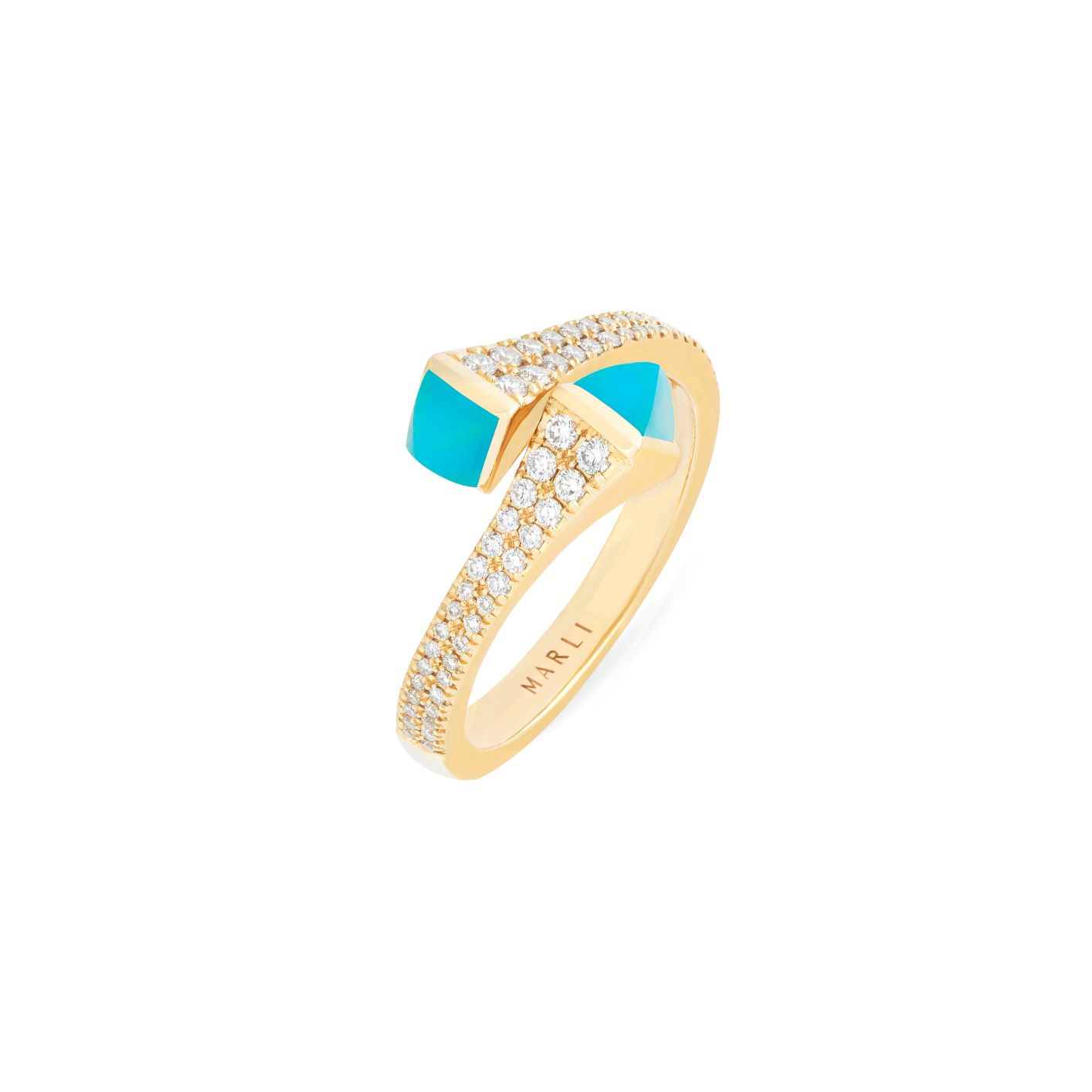 Cleo Diamond Slim Ring