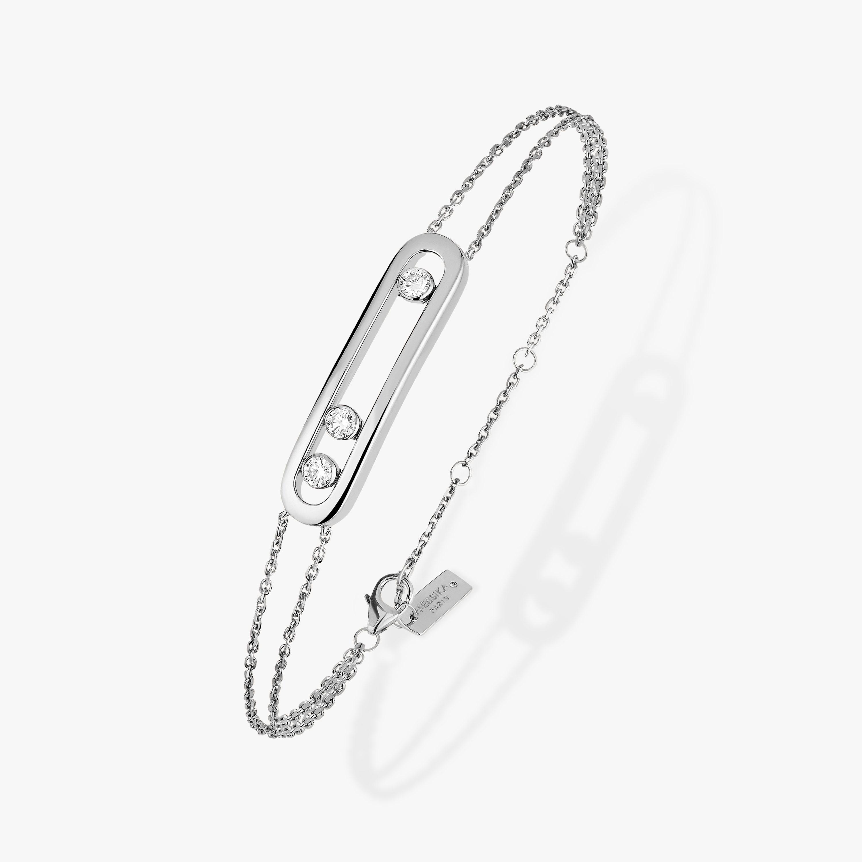 Move Classic Bracelet White Gold