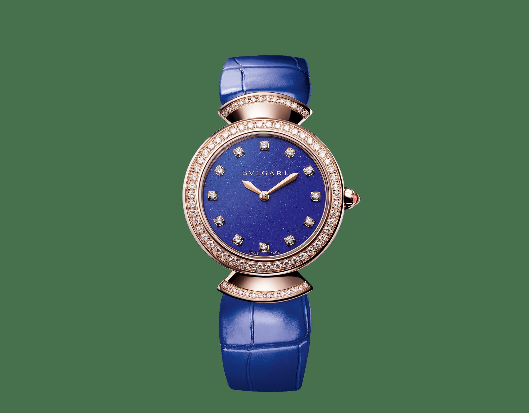 NEW DIVAS' DREAM WATCH blue 30mm
