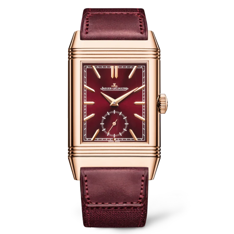 NEW REVERSO TRIBUTE DUOFACE SMALL SECONDS LE red