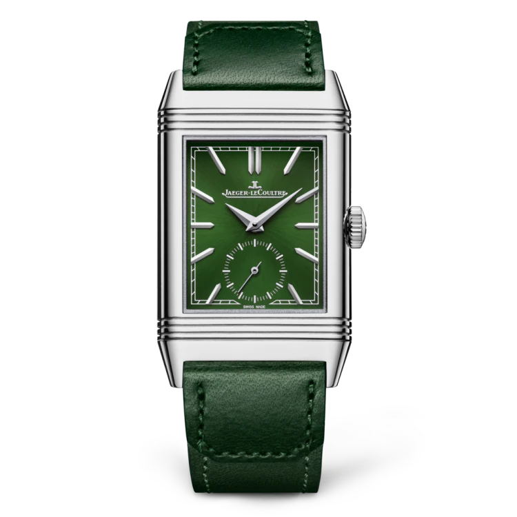 REVERSO TRIBUTE MONOFACE SMALL SECONDS green