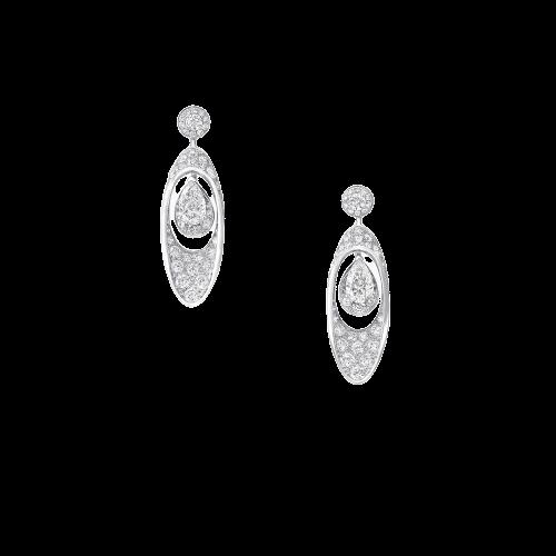 Graff Gateway Pear Shape Diamond Earrings