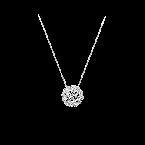 Pendant Icon Round Diamond