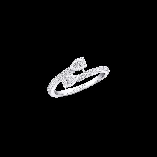 Ring Duet Wraparound Diamond