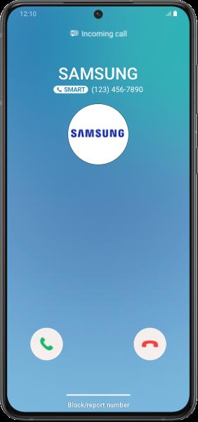 Identificador de llamadas inteligente de Samsung