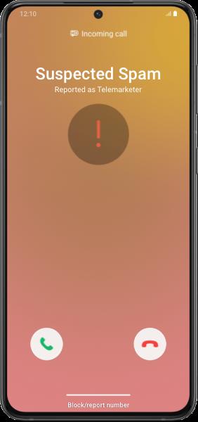 Detección de spam en Samsung Smart Call