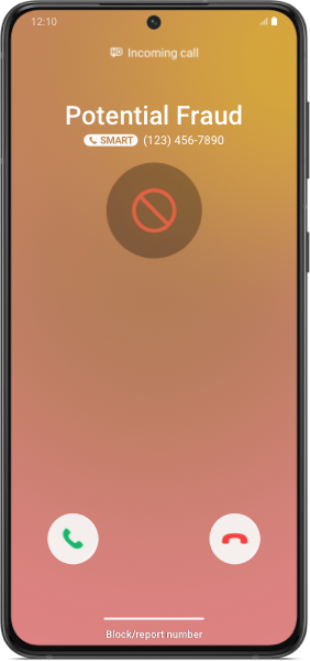 Detección de fraude en Samsung Smart Call