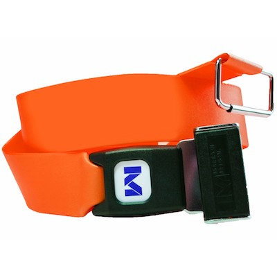 Morrison Medical Two Piece Spineboard Strap Emergency Medical Board Adjustable Strap with Plastic Quick Release Buckle by Zevco Medical 7FT Nylon Loop-Lock Seatbelt Style
