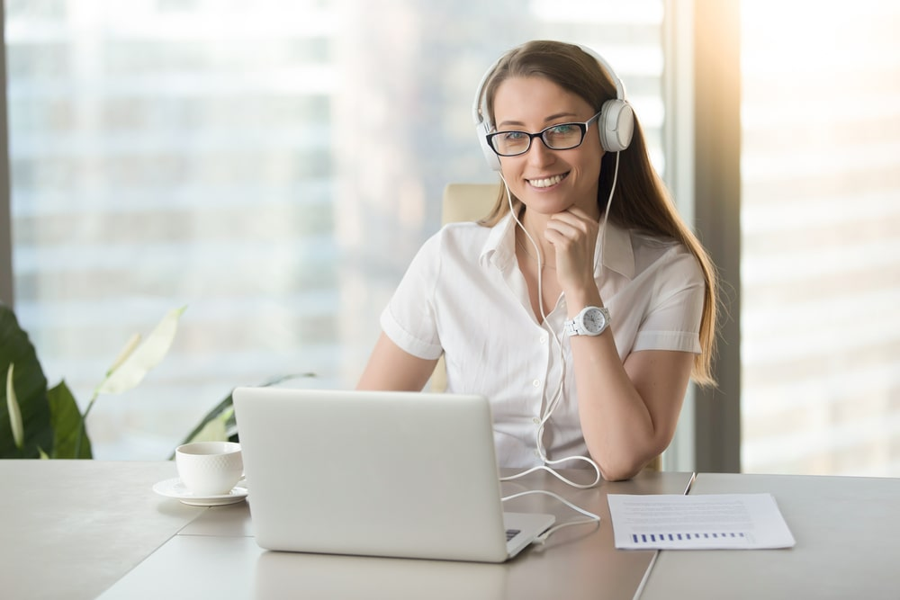Virtual Executive Assistant with Headset