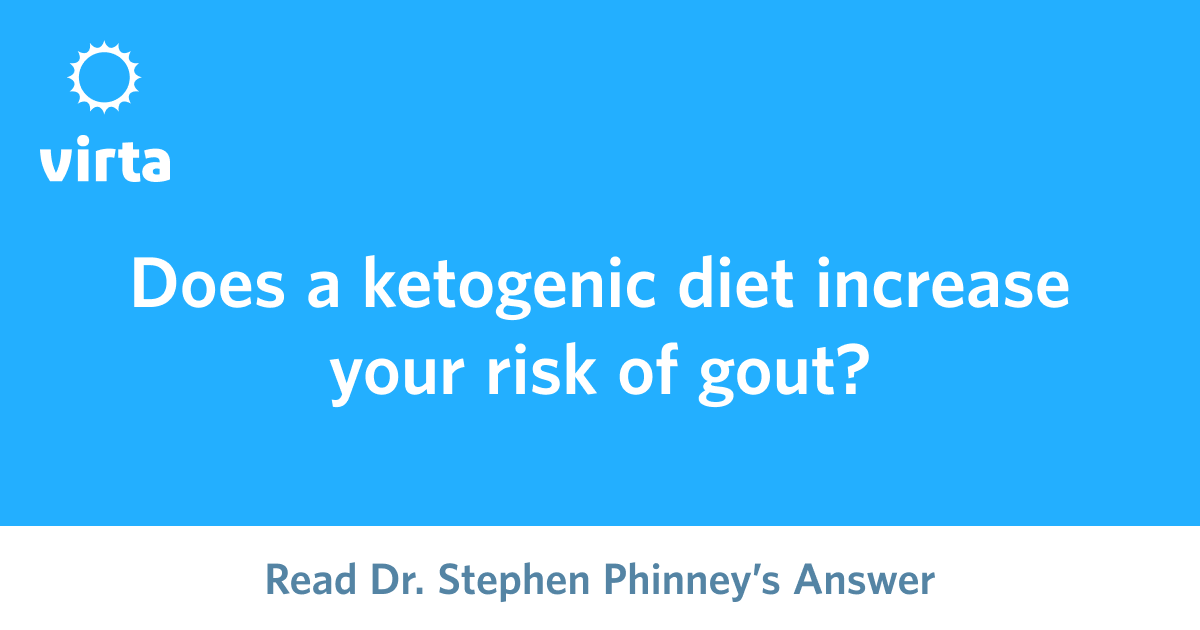 is ketogenic diet good for gout?