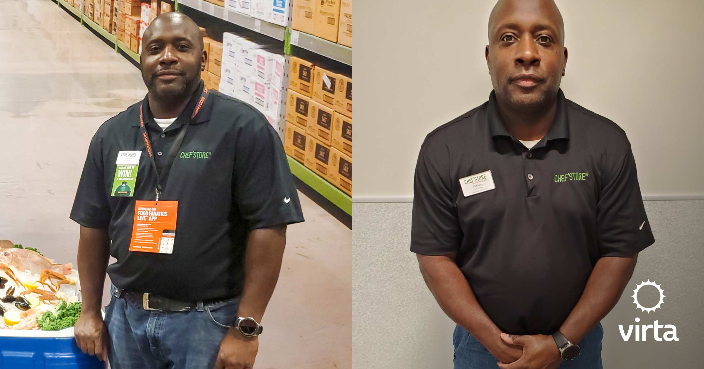 Deshawn lost 30 pounds and improving his blood sugars on Virta