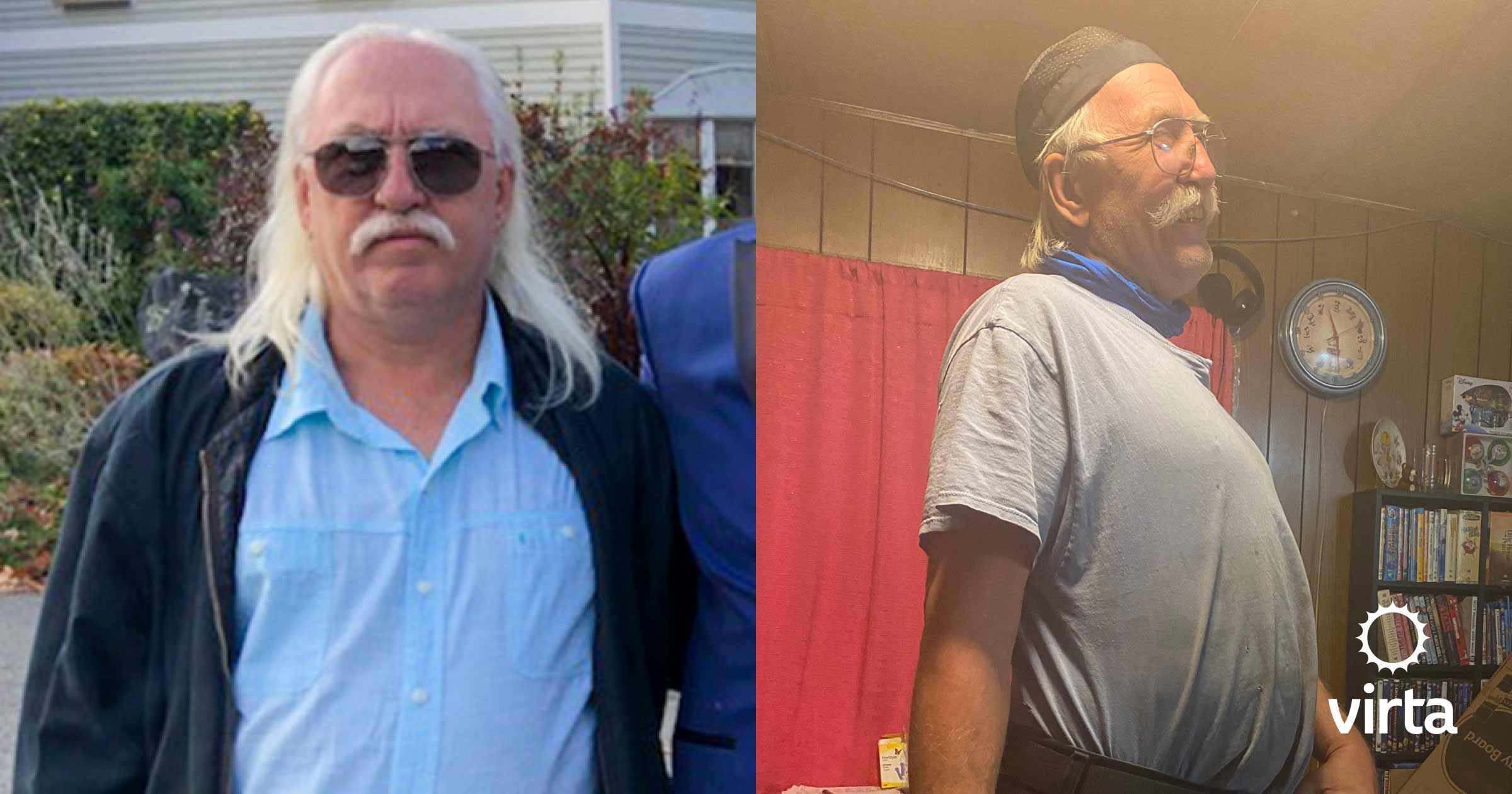 Lenny lost 30 pounds in 6 months with Virta