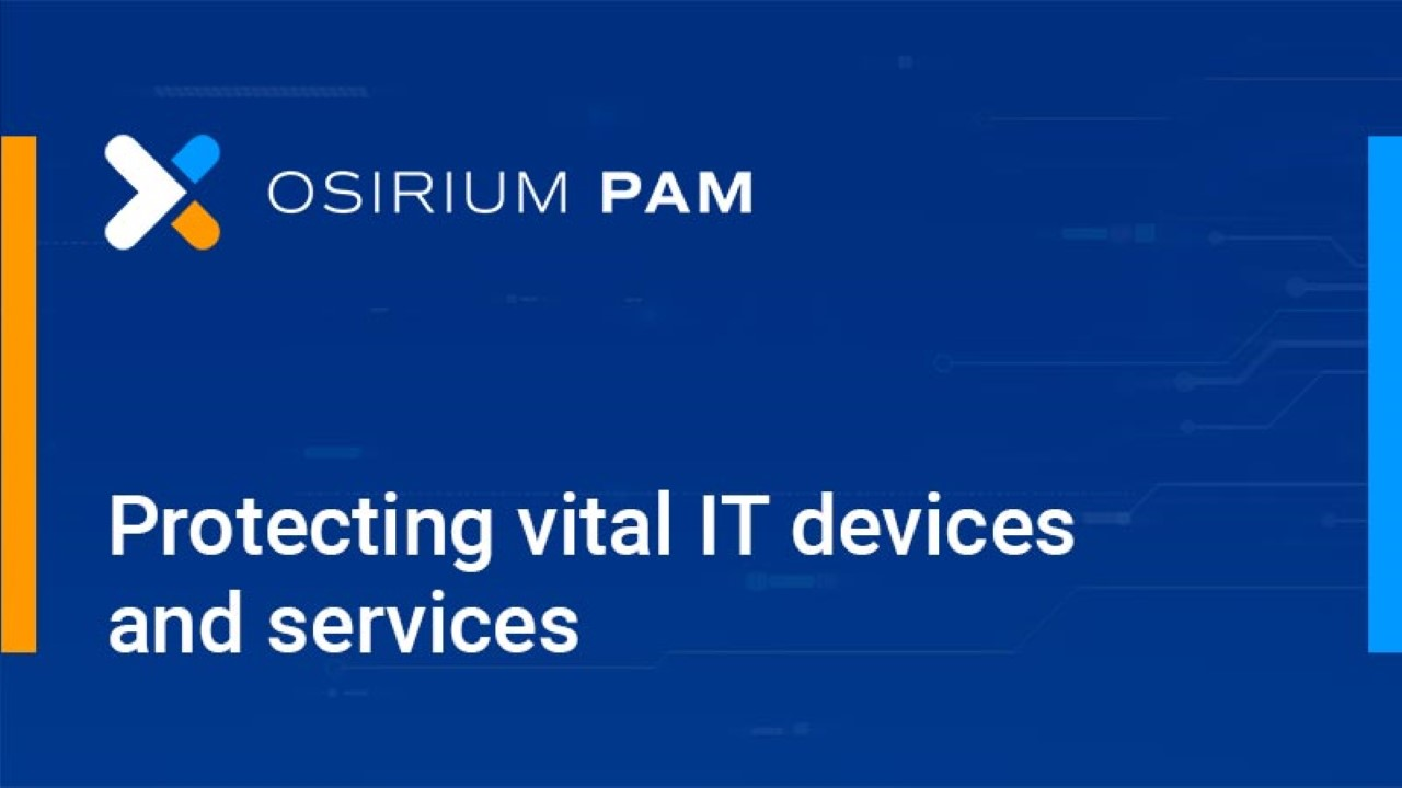 An Introduction to Privileged Access Management (PAM)