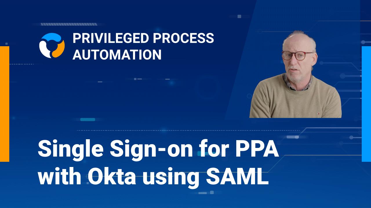 PPA Single Sign-on with Okta