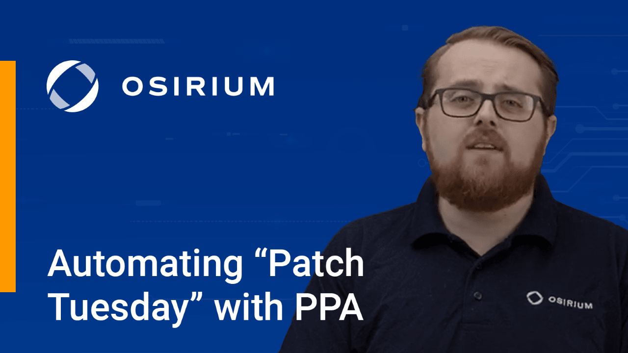 Automating Patch Tuesday with PPA