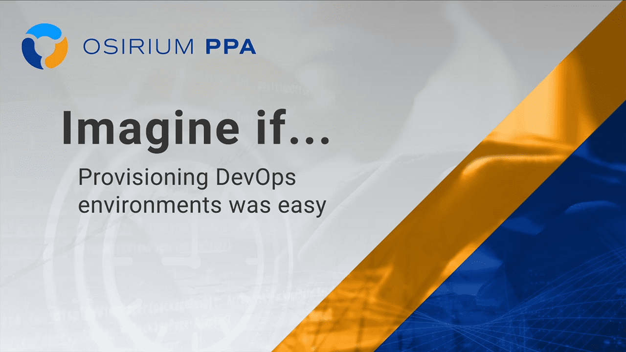Imagine If - Provisioning DevOps was Easy