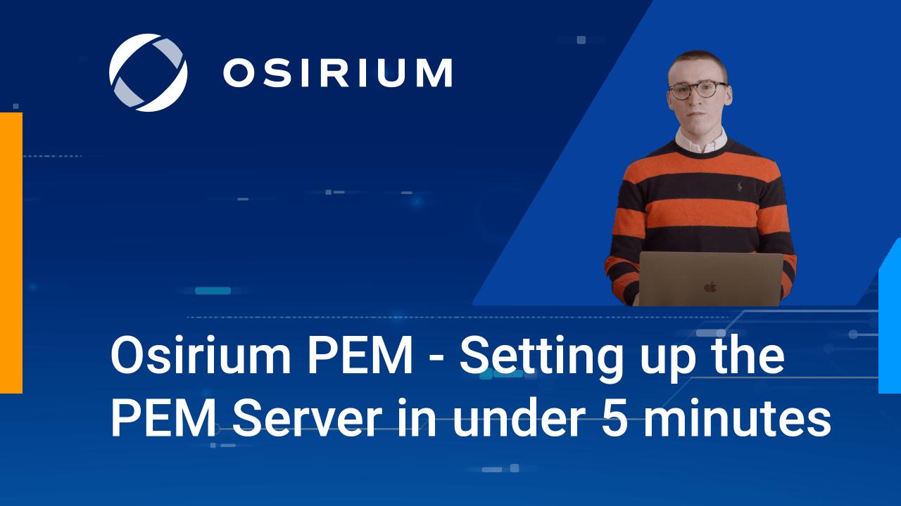 PEM Server Setup