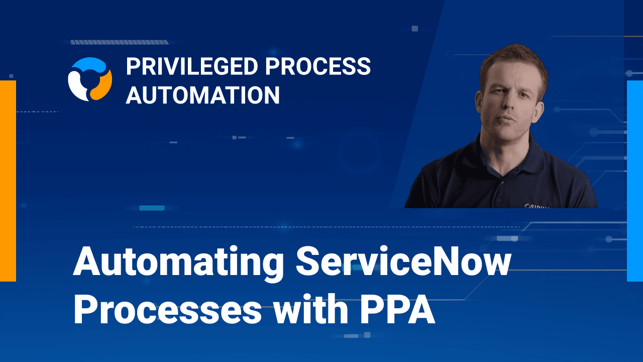 ServiceNow uses Business Rules to start a PPA Process (API Driven)