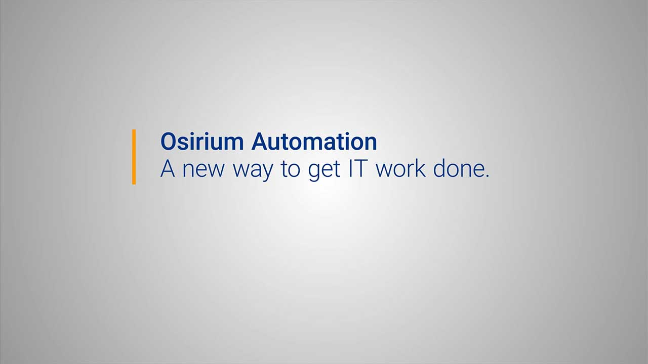 Introducing Osirium Automation