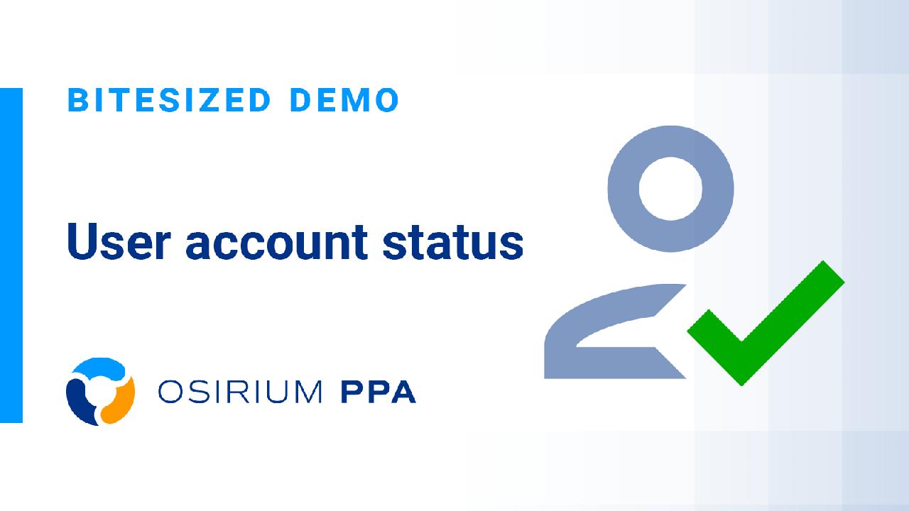 PPA Bitesized Demo - Check User Status
