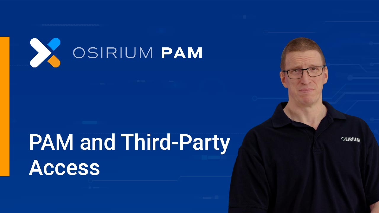 PAM and Third-Party Access