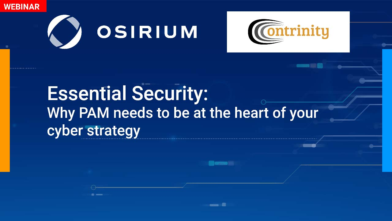 Essential security: why PAM needs to be at the heart of your cyber strategy (Dutch)