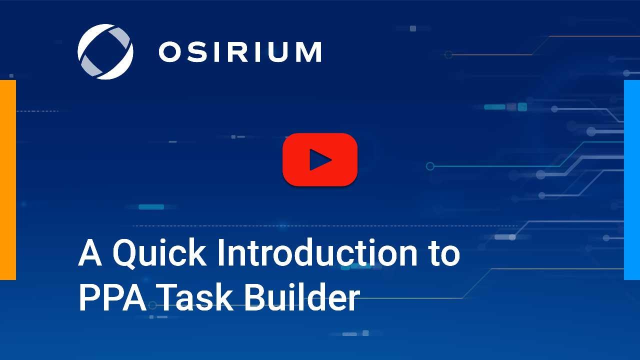 PPA Task Builder Demo