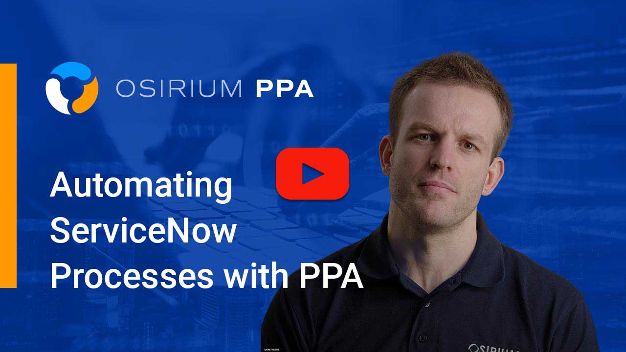 PPA Automation for servicenow