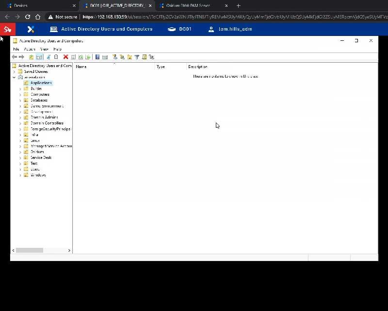 PAM MAP Server Desktop