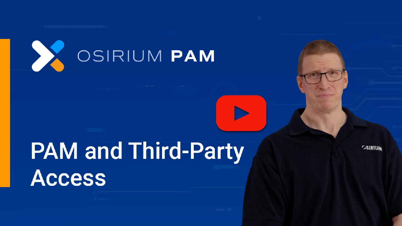 PAM Third-Party Access Demo