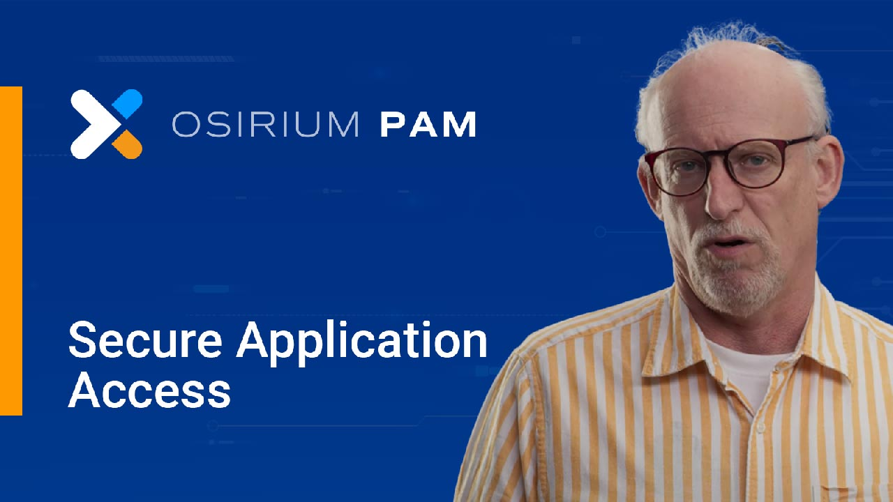 Secure privileged access to applications