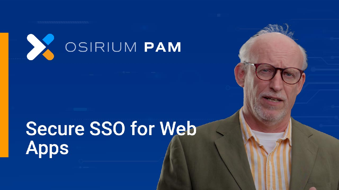 Secure SSO for web apps with MAP Server