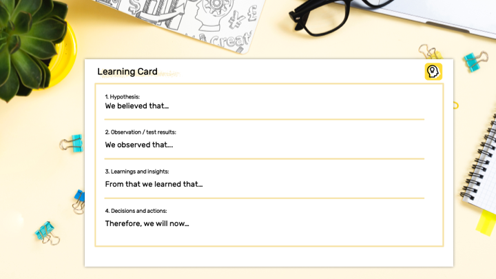 Learning Card